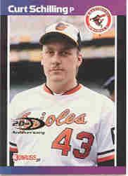 2001 Donruss Rookie Reprints #RR31 Curt Schilling/1989