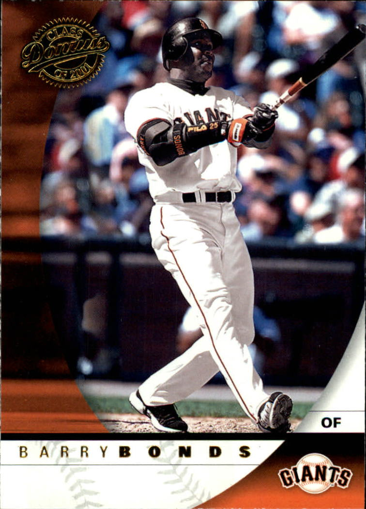 2001 Donruss Class of 2001 #2 Barry Bonds