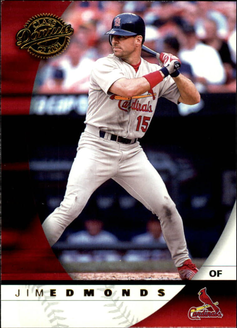 2001 Donruss Class of 2001 #4 Jim Edmonds