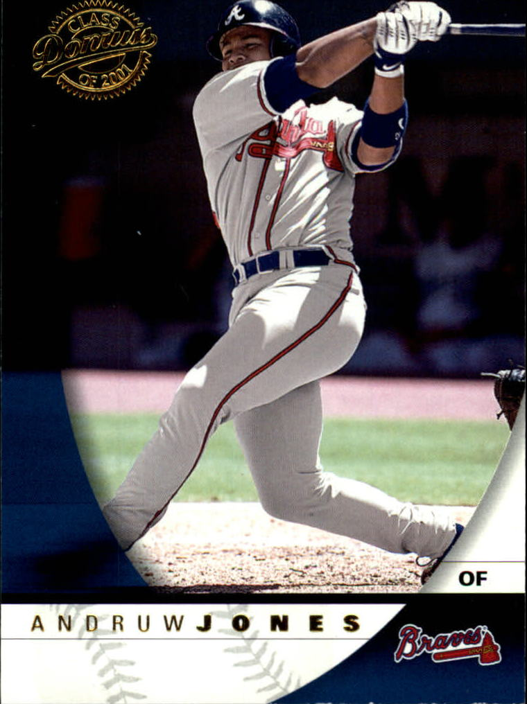 2001 Donruss Class of 2001 #60 Andruw Jones