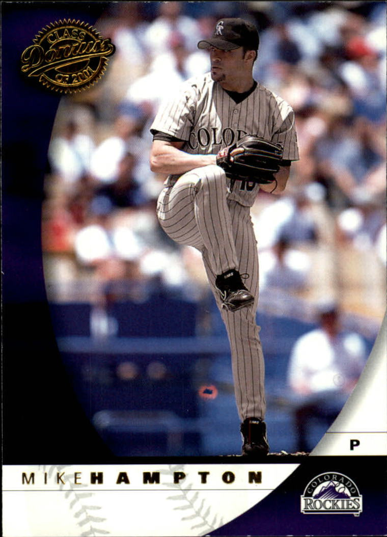 2001 Donruss Class of 2001 #67 Mike Hampton