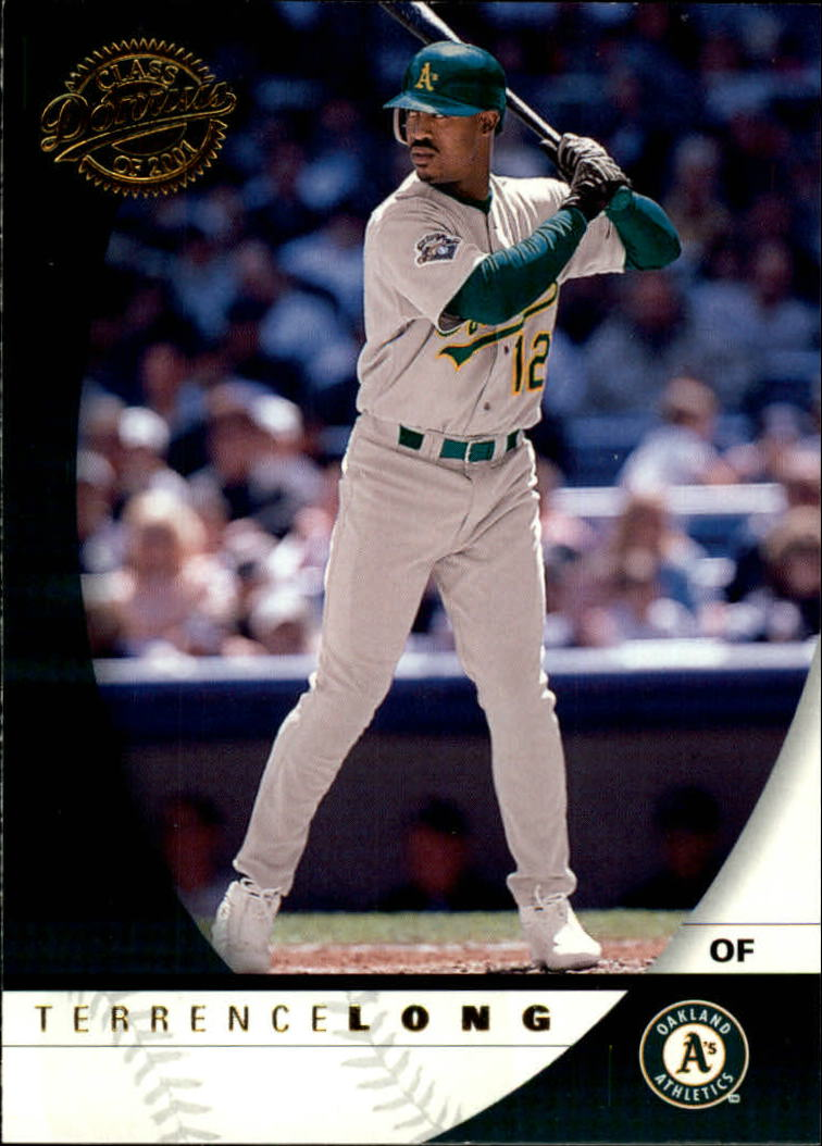 2001 Donruss Class of 2001 #73 Terrence Long