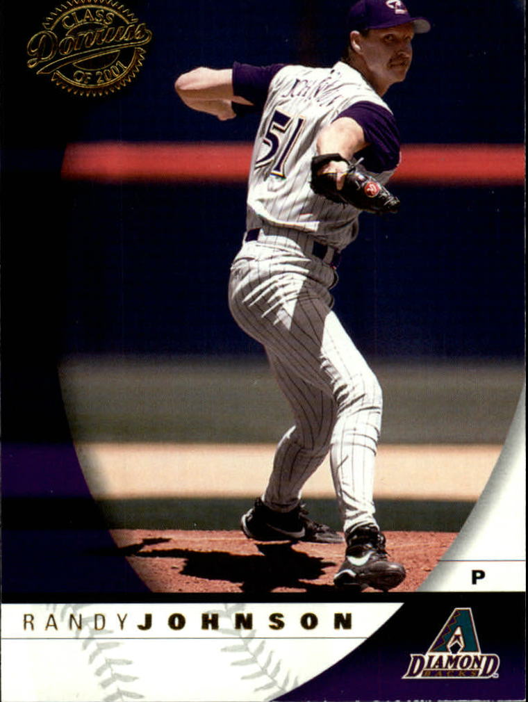 2001 Donruss Class of 2001 #82 Randy Johnson