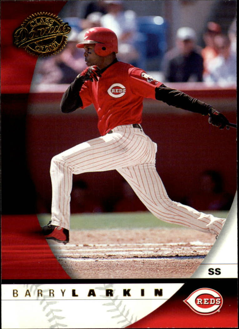 2001 Donruss Class of 2001 #98 Barry Larkin