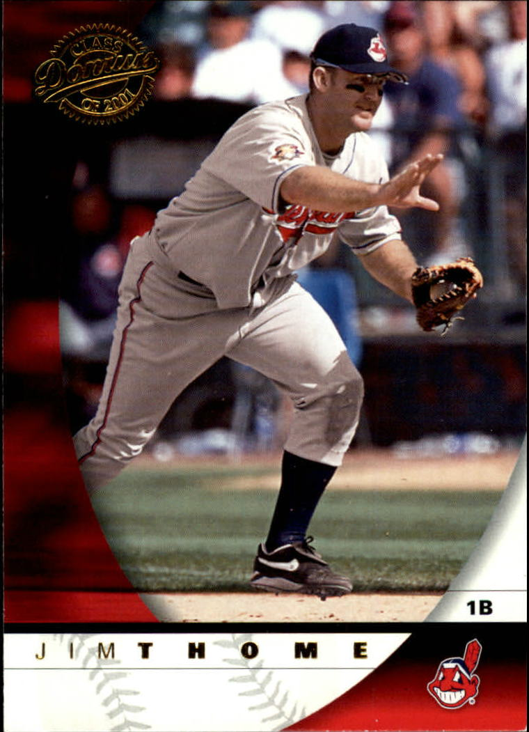 2001 Donruss Class of 2001 #99 Jim Thome