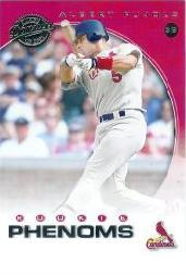 2001 Donruss Class of 2001 #268 Albert Pujols PH/525 RC