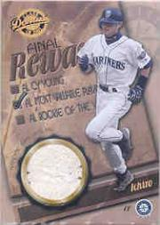 2001 Donruss Class of 2001 Final Rewards #RW2 I.Suzuki MVP Ball/50