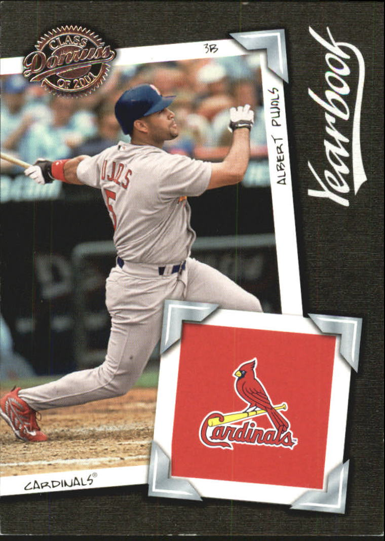 2001 Donruss Class of 2001 Yearbook #YB23 Albert Pujols