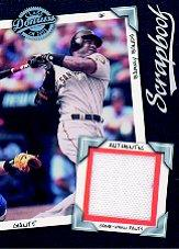 2001 Donruss Class of 2001 Scrapbook #SB1 Barry Bonds Pants/525