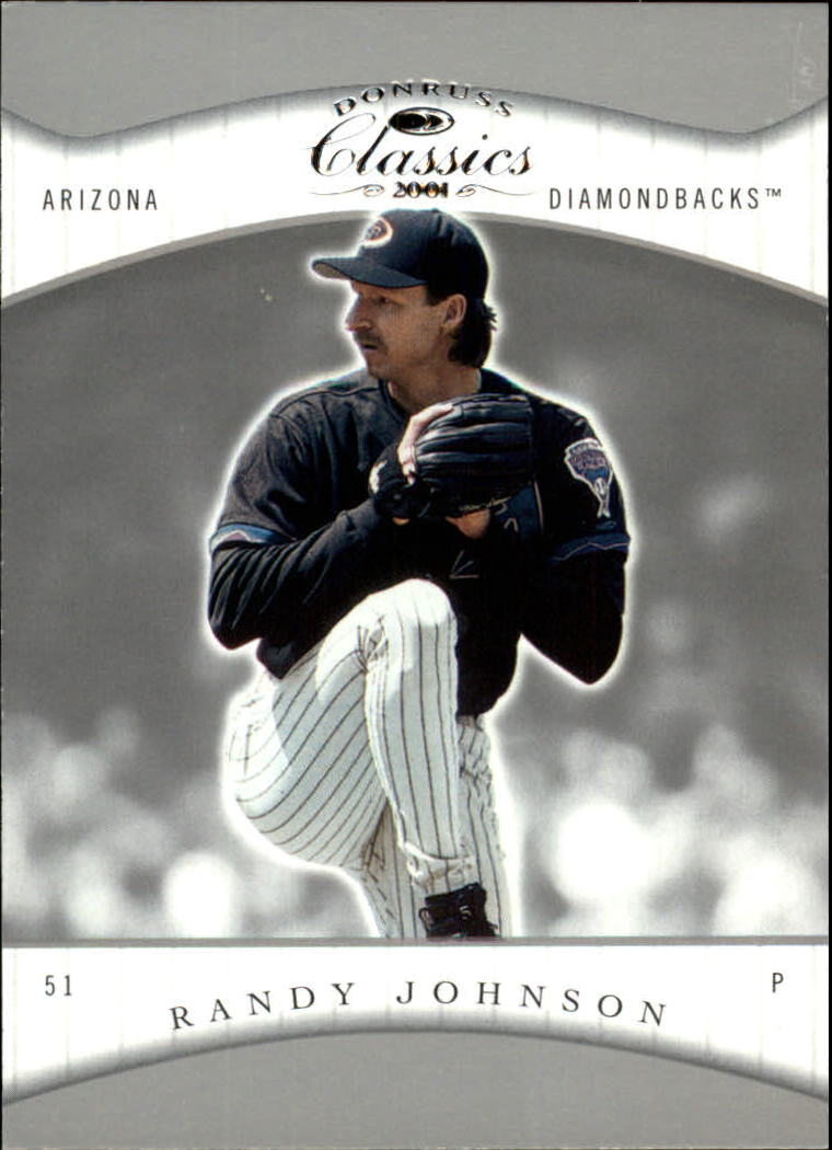 2001 Donruss Classics #19 Randy Johnson