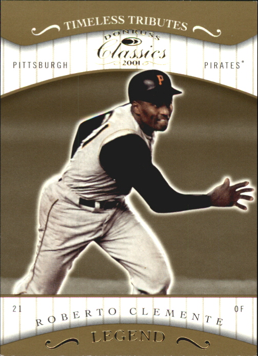 2001 Donruss Classics Timeless Tributes #183 Roberto Clemente
