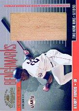 2001 Donruss Classics Benchmarks #BM4 Barry Bonds