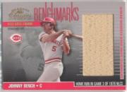 2001 Donruss Classics Benchmarks #BM13 Johnny Bench