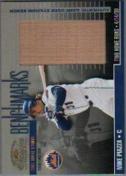 2001 Donruss Classics Benchmarks #BM23 Mike Piazza