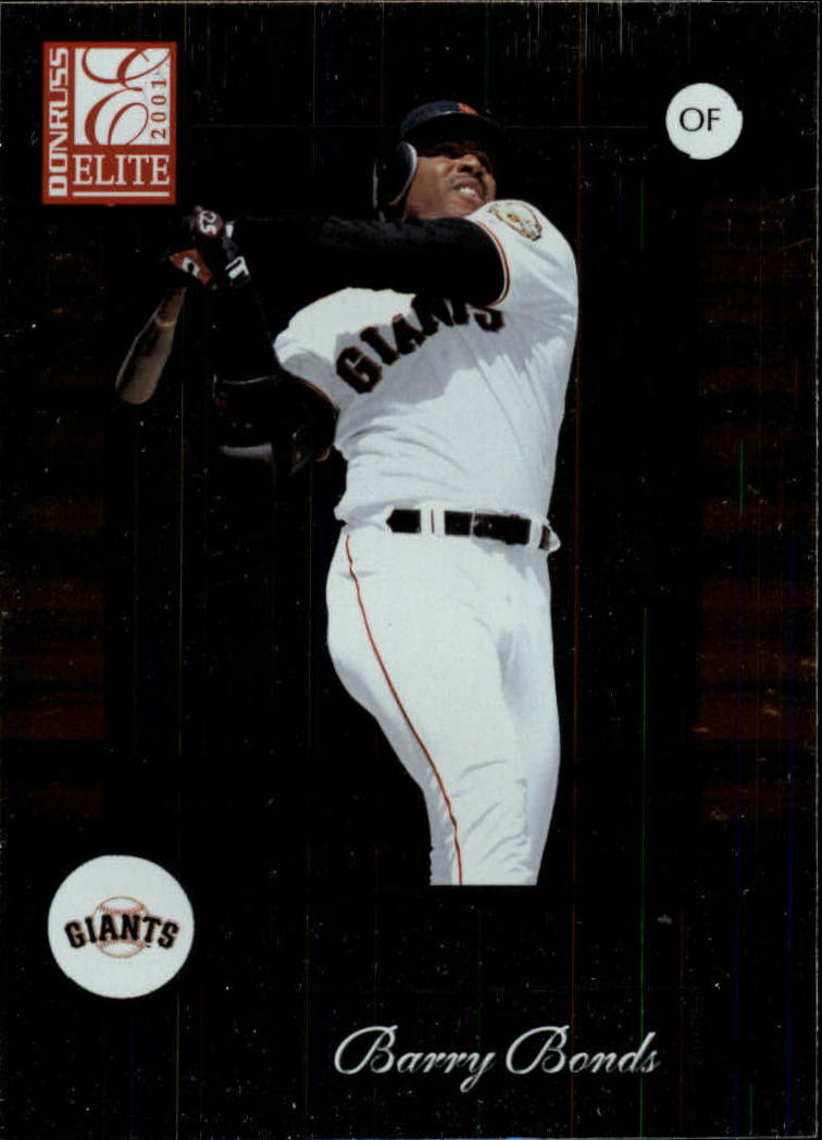 2001 Donruss Elite #2 Barry Bonds