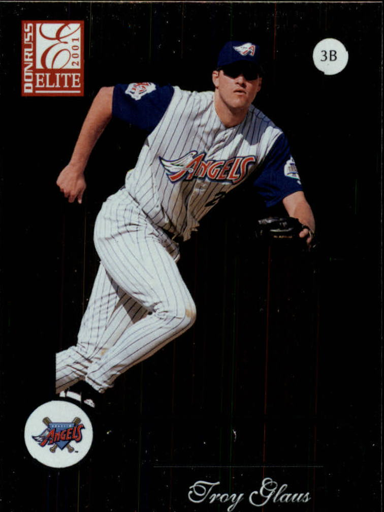 2001 Donruss Elite #6 Troy Glaus