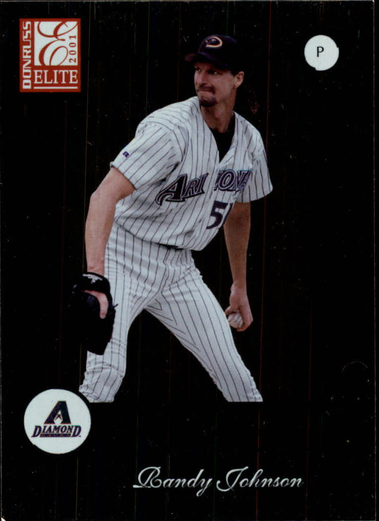 2001 Donruss Elite #19 Randy Johnson
