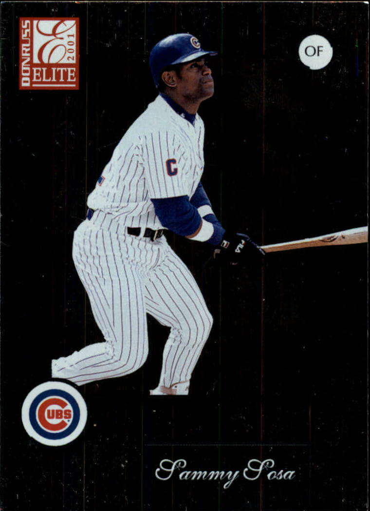 2001 Donruss Elite #23 Sammy Sosa