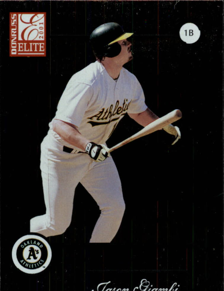 2001 Donruss Elite #35 Jason Giambi