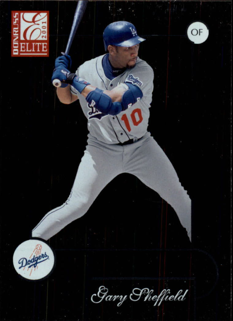 2001 Donruss Elite #51 Gary Sheffield