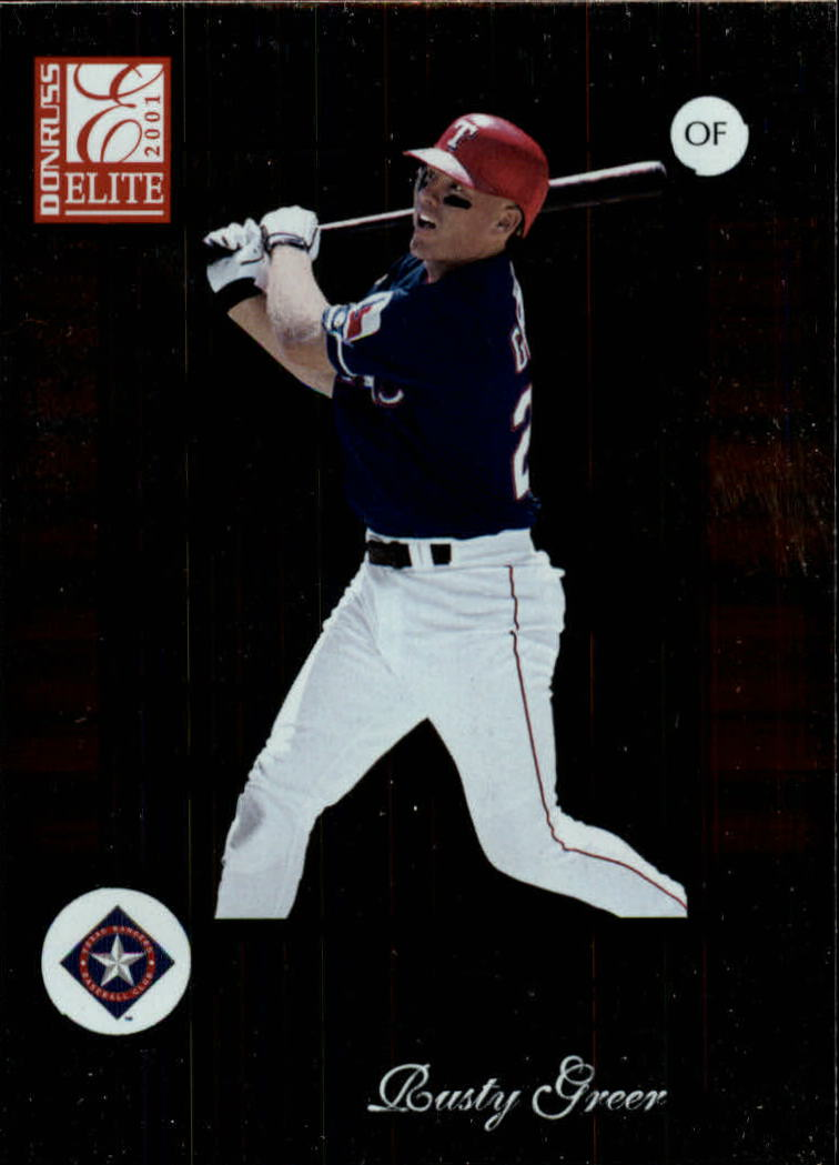 2001 Donruss Elite #97 Rusty Greer