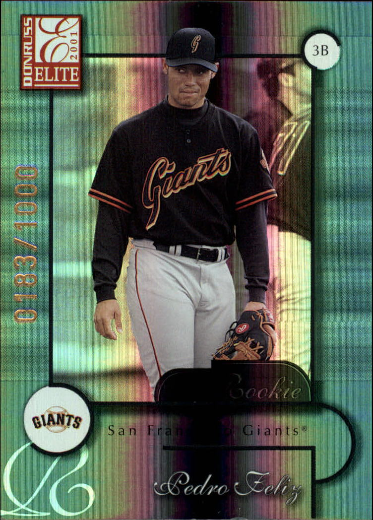2001 Donruss Elite #161 Adrian Hernandez SP RC
