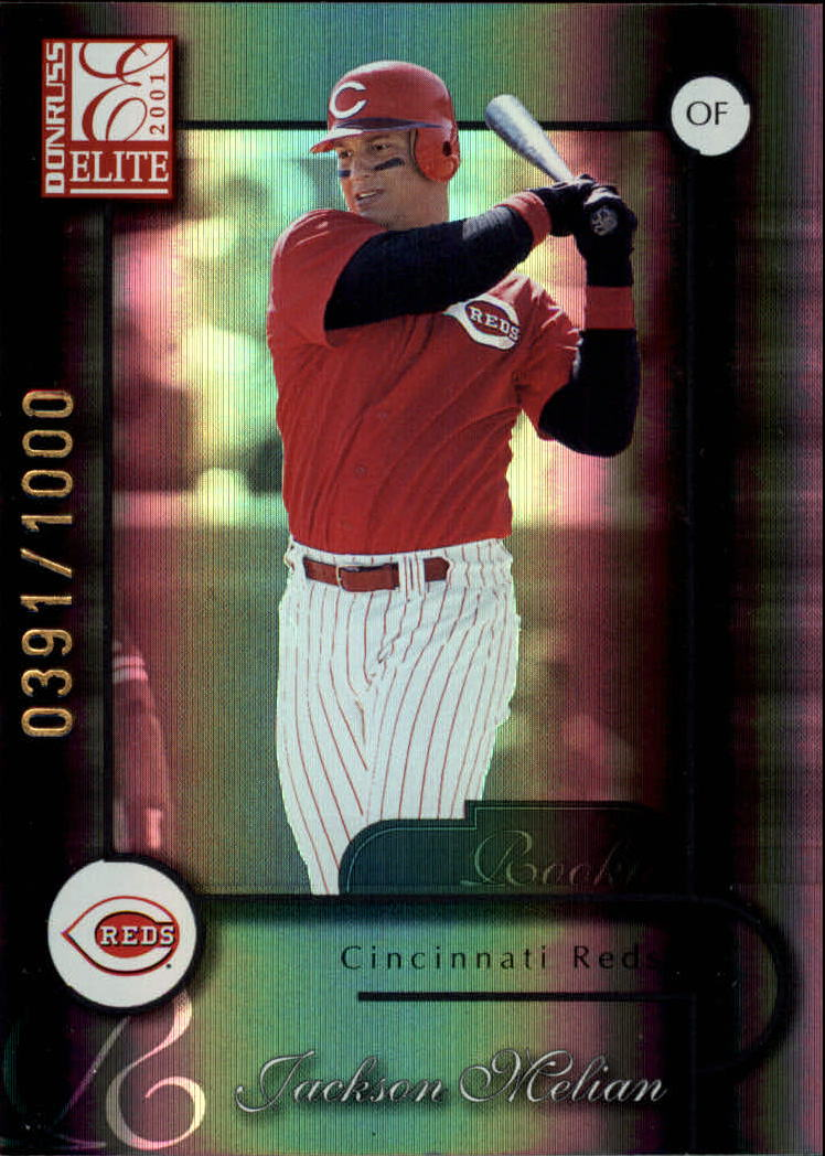 2001 Donruss Elite #190 Jackson Melian SP RC