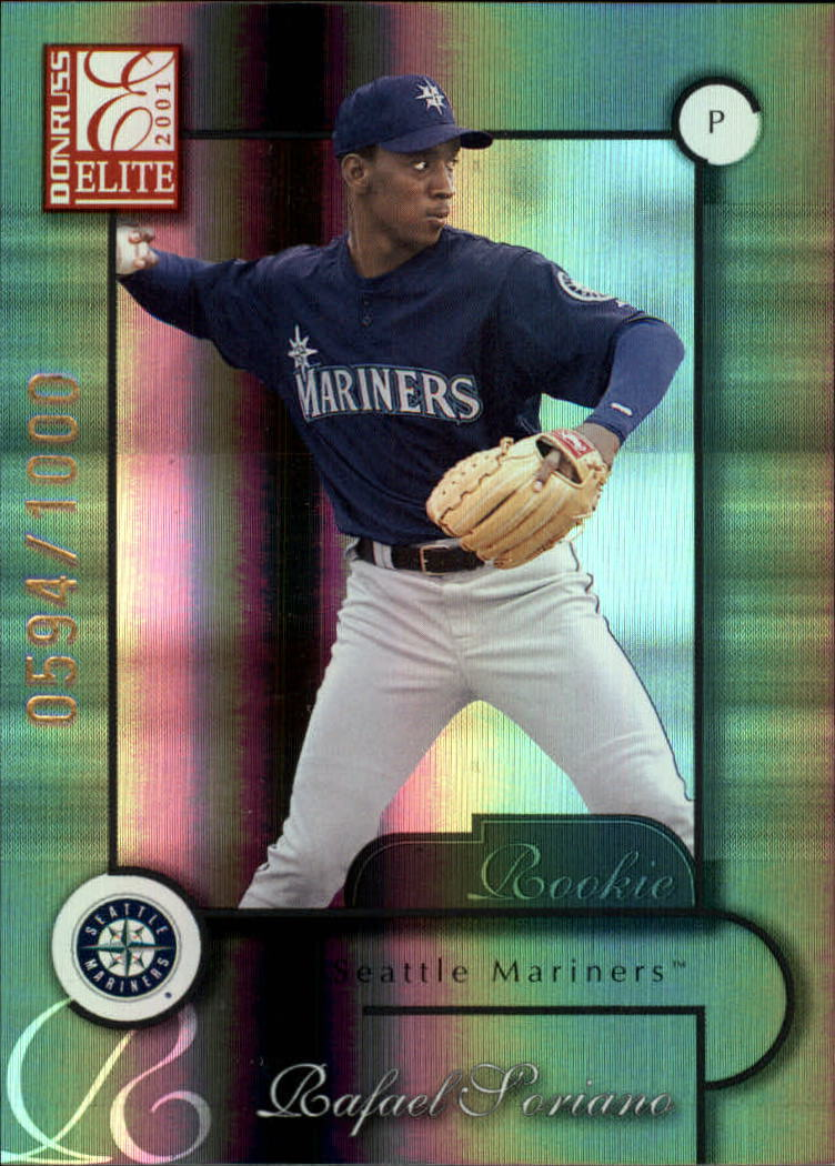 2001 Donruss Elite #194 Rafael Soriano SP RC