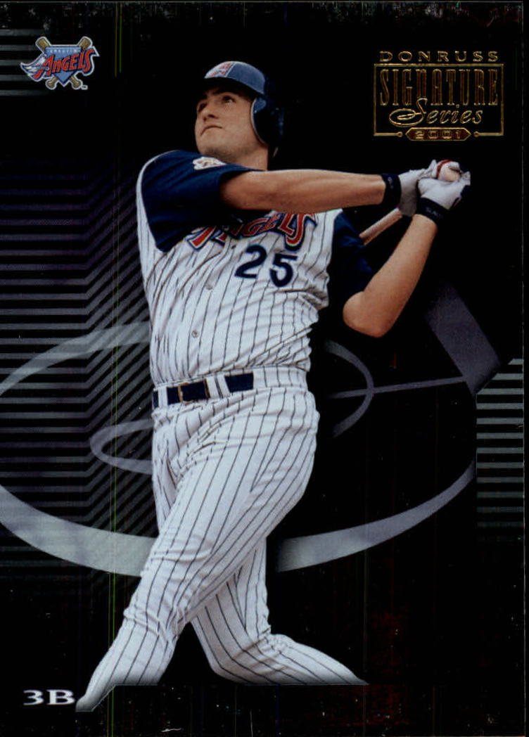 2001 Donruss Signature #6 Troy Glaus