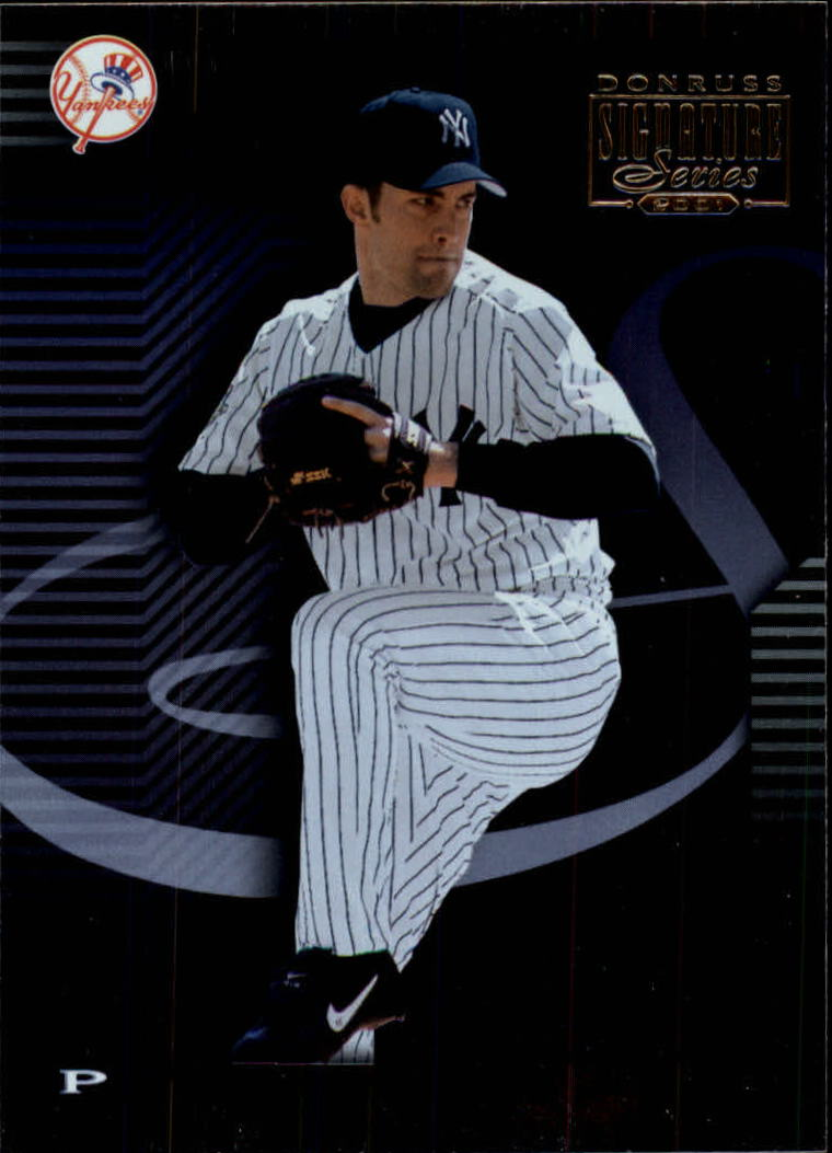 2001 Donruss Signature #45 Mike Mussina