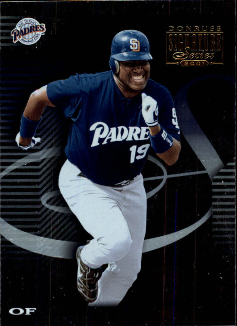 2001 Donruss Signature #64 Tony Gwynn