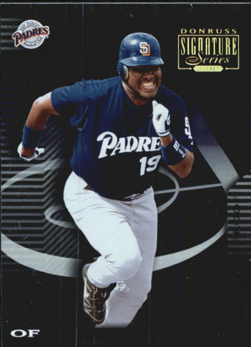 2001 Donruss Signature Proofs #64 Tony Gwynn