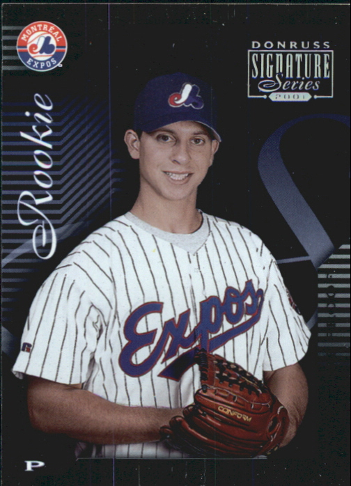 2001 Donruss Signature Proofs #310 Zach Day