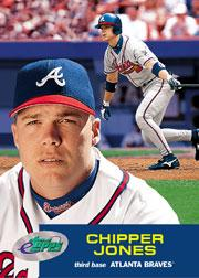 2001 eTopps #2 Chipper Jones/674