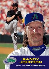 2001 eTopps #4 Randy Johnson/1499