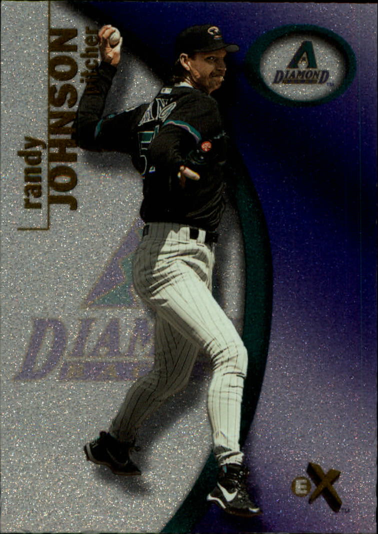 2001 E-X #88 Randy Johnson
