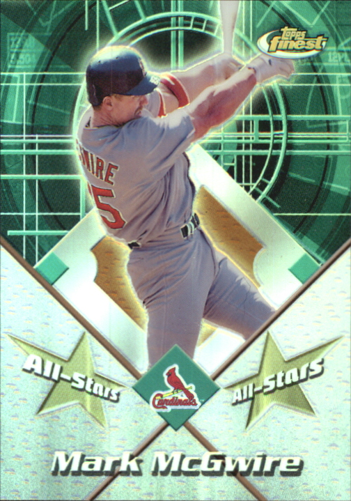 2001 Finest All-Stars #FAS1 Mark McGwire