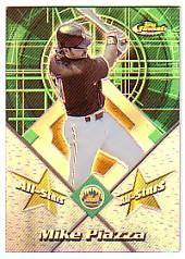 2001 Finest All-Stars Refractors #FAS7 Mike Piazza