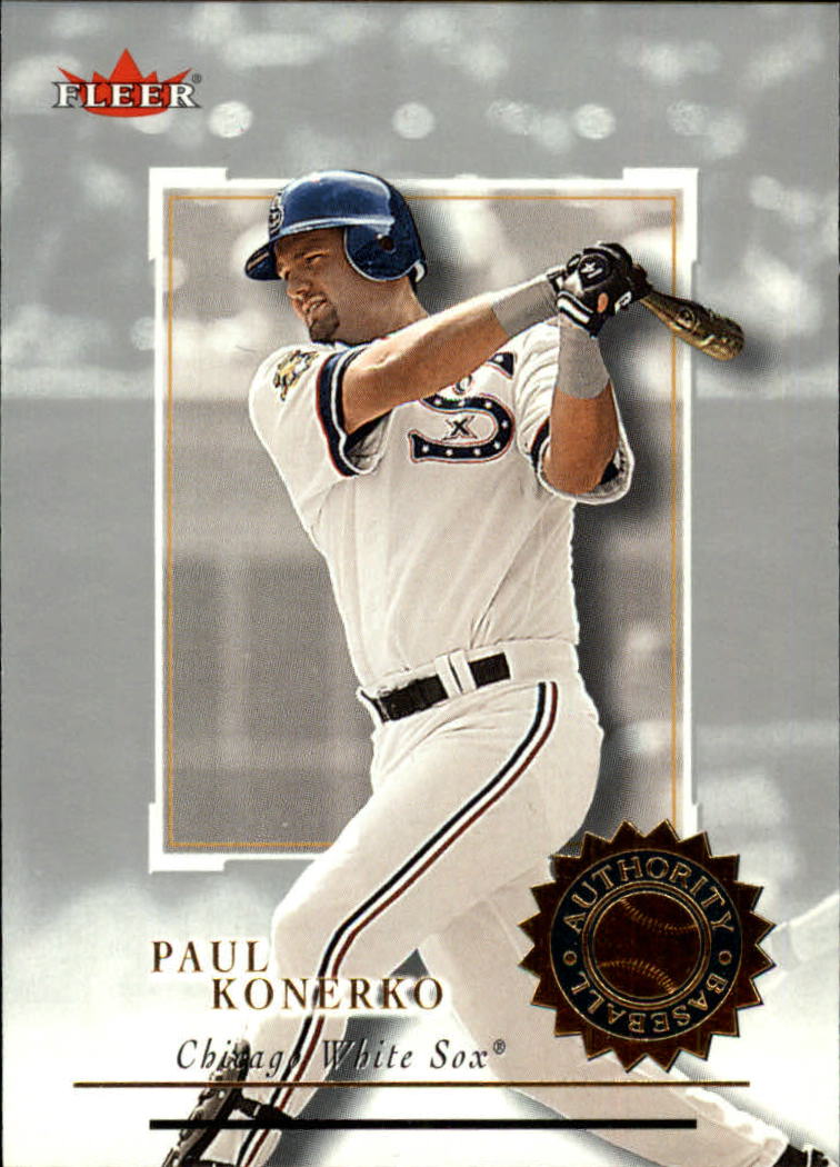 2001 Fleer Authority #2 Paul Konerko