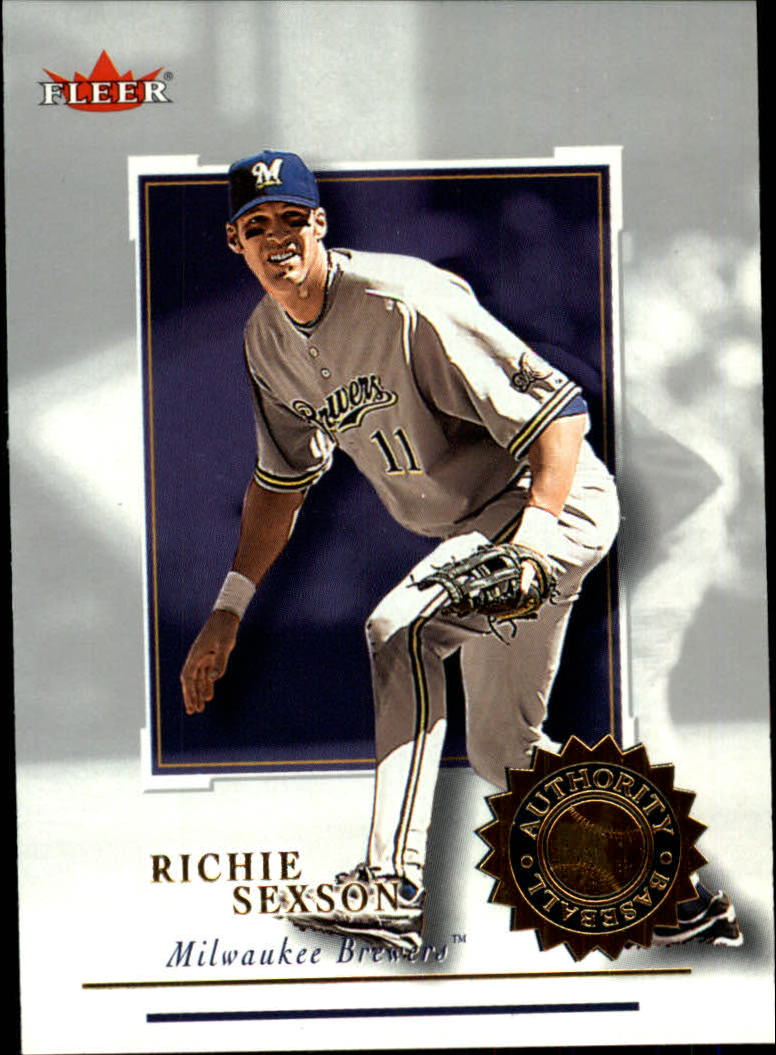 2001 Fleer Authority #10 Richie Sexson