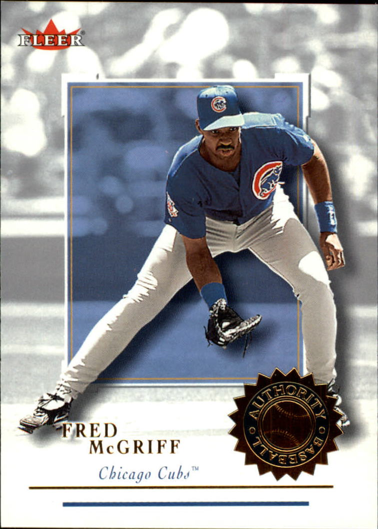 2001 Fleer Authority #15 Fred McGriff