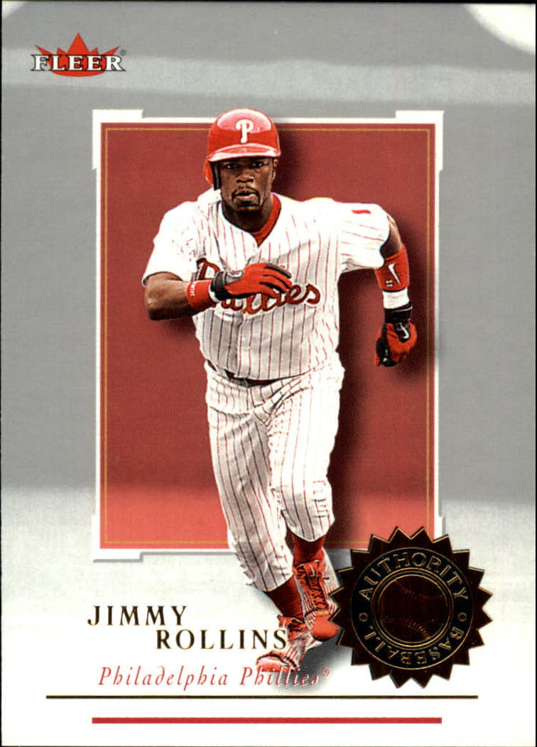 2001 Fleer Authority #30 Jimmy Rollins