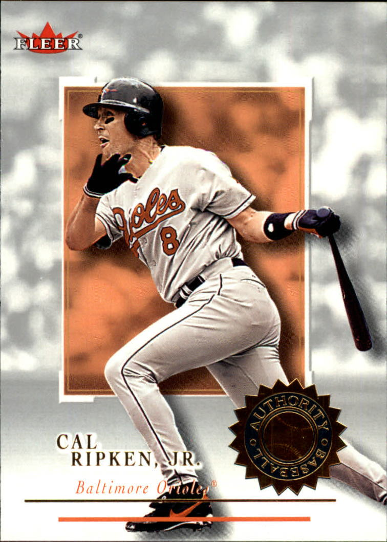 2001 Fleer Authority #33 Cal Ripken