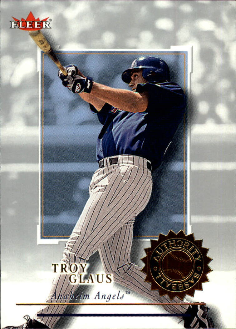 2001 Fleer Authority #34 Troy Glaus