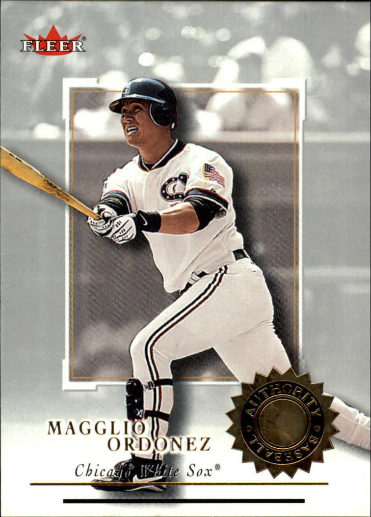 2001 Fleer Authority #56 Magglio Ordonez