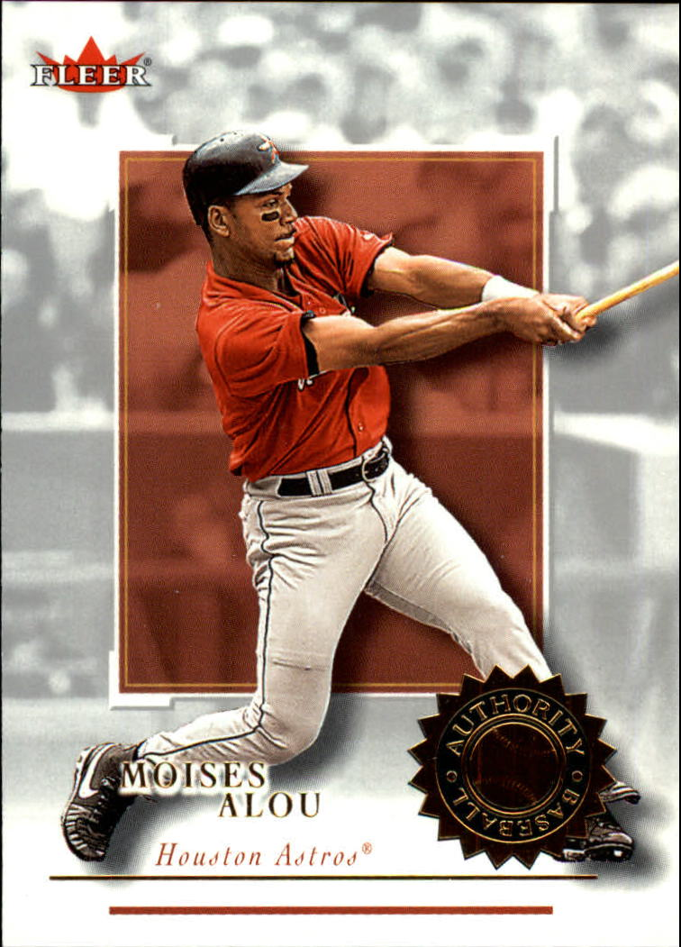 2001 Fleer Authority #63 Moises Alou