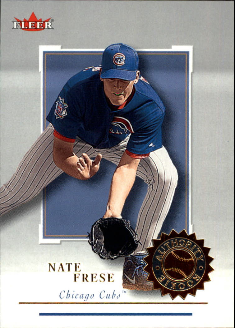 2001 Fleer Authority #139 Nate Frese RC