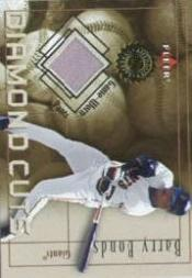 2001 Fleer Authority Diamond Cuts Memorabilia #7 Barry Bonds Pants/800