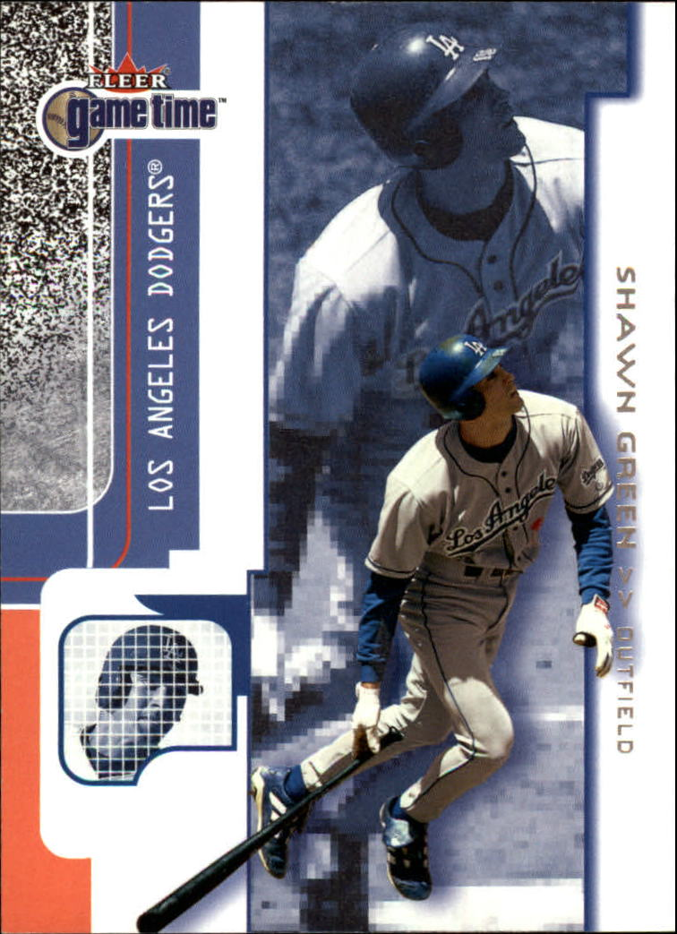 2001 Fleer Game Time #16 Shawn Green