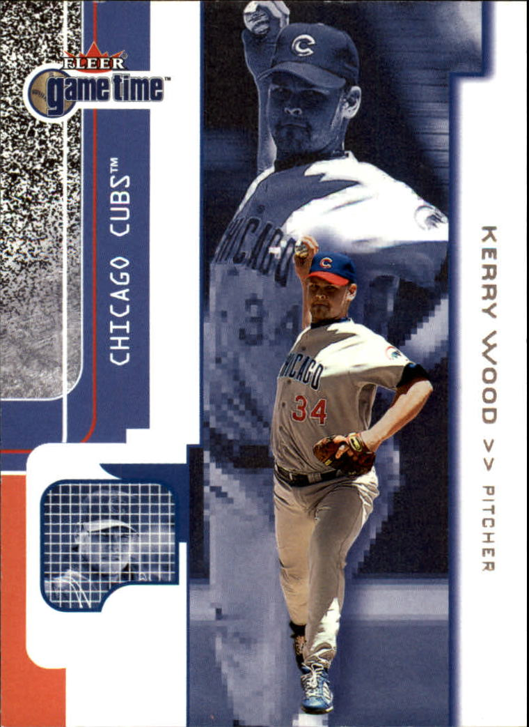 2001 Fleer Game Time #17 Kerry Wood